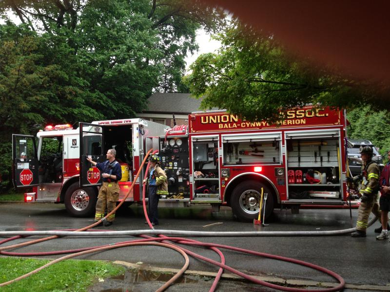 Station 28 assists 22 on Dwelling Fire
